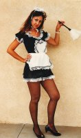 Sexy French Maid Costume, Sz 10-12 MD