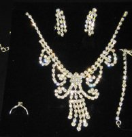 NECKLACE - Rhinestone Jewelry Sets - Loops