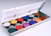 PALETTE MAKEUP - EMPTY REFILLABLE METAL BOX