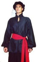 RENAISSANCE SHIRT - Pleated Collar & Cuffs