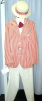 "Mens Stripe Jacket, Size 38"" - 40""L SM"