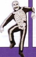 SKELETON COSTUME - DELUXE - 3D
