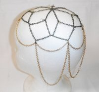 Medieval Chain Head Piece