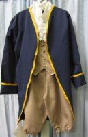 Eighteenth Century Colonial Child Costume, Size Ch 8-10
