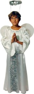 Child Angel Costume, Size 2