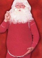 Santa Belly Costume Size Most #75E