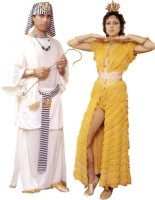 Pharoah, Egyptian Costume, Size Small - Extra Large