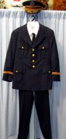 Military Uniform Costume - Army Dress Size 40 - 42 SM-MD