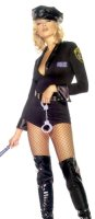 POLICE WOMAN SEXY COSTUME SMALL - MED