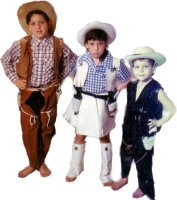 Cowboy-Child Costume Size Ch 8-10