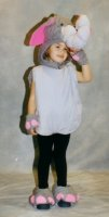 Elephant Child Costume Rental Size Child 3 - 4