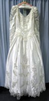 Bride Gown, Wedding Dress, Size 10 - 12 SM - MD