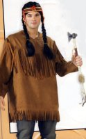 NATIVE AMERICAN INDIAN SHIRT COSTUME