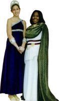Greek / Roman Lady Costume, Size Med - Large