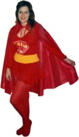 DC Super Girl Costume, Size SM - MD