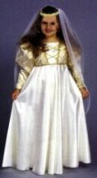 Medieval Princess Costume, Size child 10 - 12
