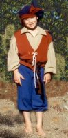 CHILD RENAISSANCE PANTS - TODDLER & XSM