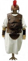 Roman Soldier Costume, Size XXXXL Chest 72""