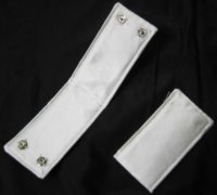 SATIN CUFFS - Child Size