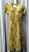 Nineteen Forty's Day Dress Costume Size 18 LG