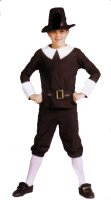 Pilgrim Child Boy Costume, Size Child 6 - 8