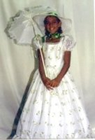 Southern Belle Costume, Size Child 10 - 12
