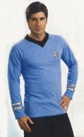 Star Trek Original Style Costume - Blue Shirt