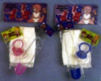 BABY KITS - DIAPER, PACIFIER, PIN