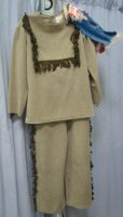 Indian Child Costume, Size 6 - 8