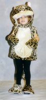 Lion Child Costume, Size 3 - 4