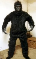 Gorilla Costume Size Most