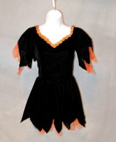 WITCH COSTUME - ORANGE
