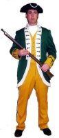 18th Century Military Man Costume, Chest 46R