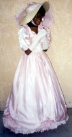 Southern Belle Costume, Size 7-8 SM Pink