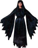Satin Witch Costume, Size Most