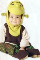 Shrek Costume Size Toddler 2-4