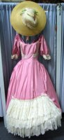 Southern Belle Costume Size 5 SM, Pink