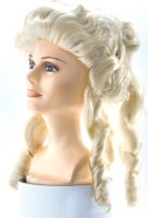 COLONIAL or MRS. CLAUS WIG - FEMALE - White