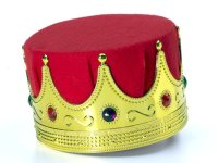KING CROWN with VELVET LINING