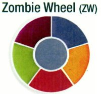 ZOMBIE WHEEL by BEN NYE MAKEUP, #ZW
