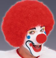 CLOWN WIG - DISCOUNT - RED