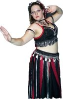 Tribal Belly Dance Costume, Size Lg - XL