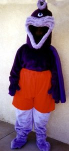 Purple People Eater Costume Size Most