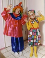 Clown child Costume, Size Child 12 - 14