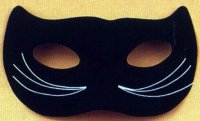 Domino Cat Mask