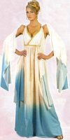GREEK GODDESS COSTUME ADULT - Flowing Goddess Costume
