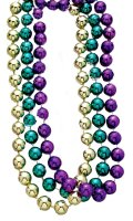 NECKLACES - Assorted Mardi Gras