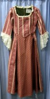 18th Century Colonial Lady Child Size 12-14 ROSE