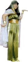 Gold Cleopatra Costume, Size Medium