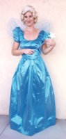 Blue Fairy Costume, Size Small Blue